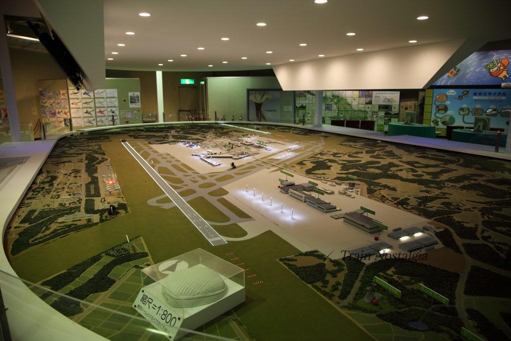 成田航空博物館成田国際空港模型