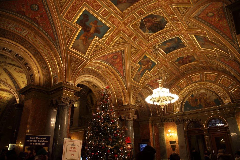 ハンガリー国立歌劇場内部
