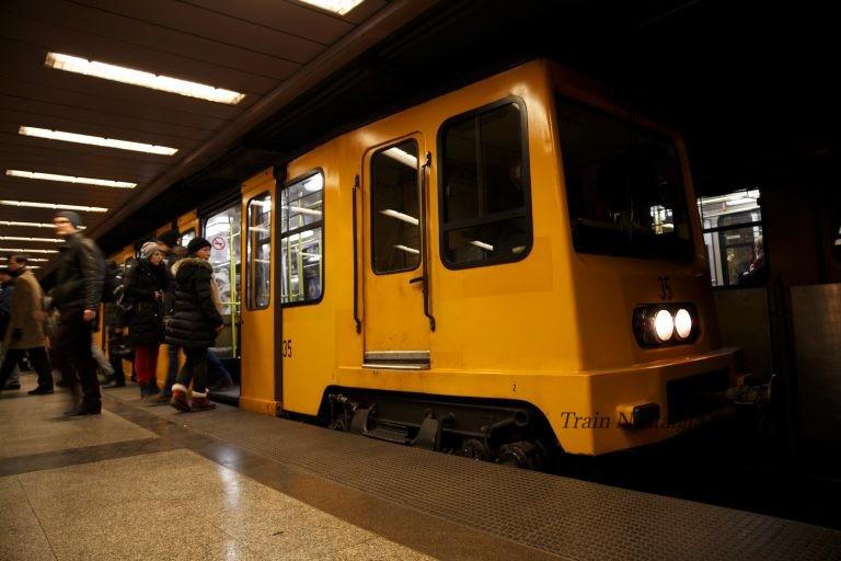 ブダペスト地下鉄1号線表紙