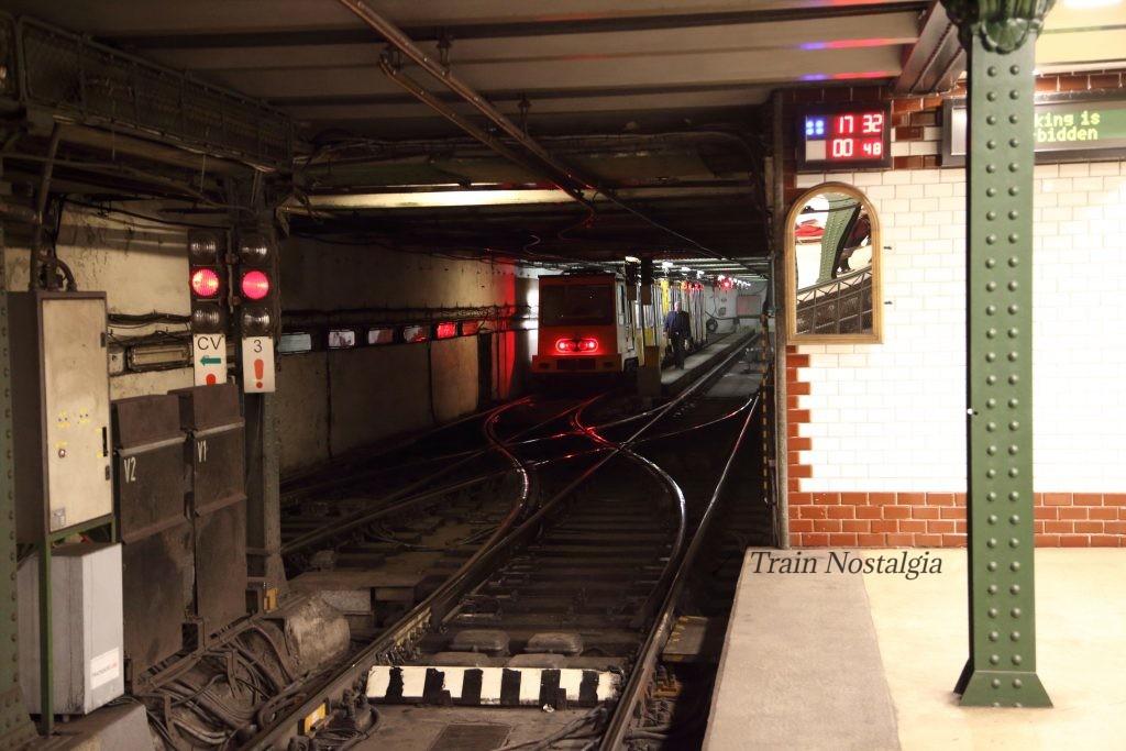 ブダペスト地下鉄1号線ヴェレシュマルティ広場駅折り返し線