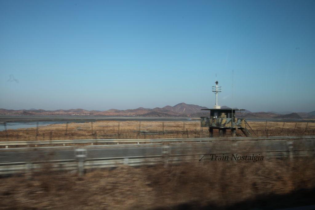 臨津江反対側北朝鮮