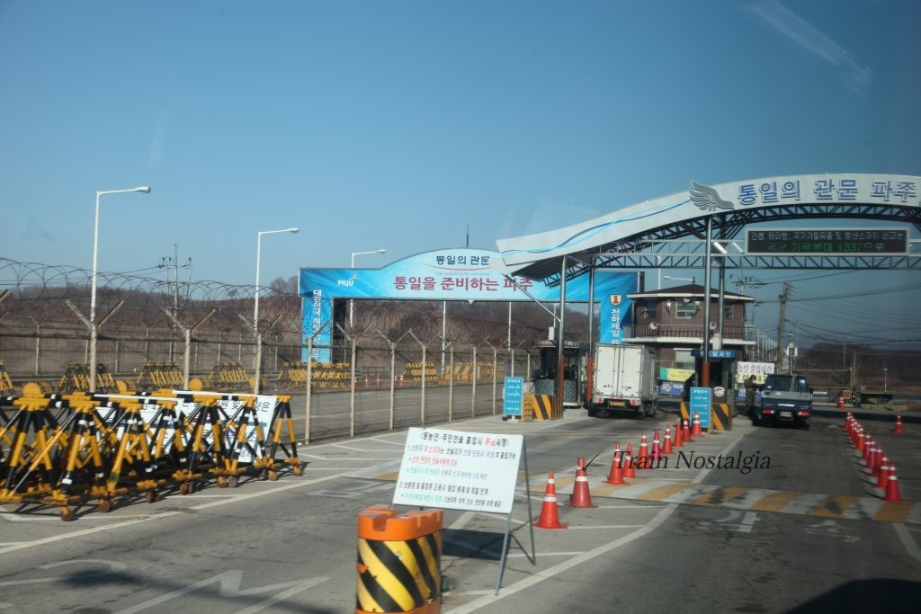 韓国統一大橋検問所
