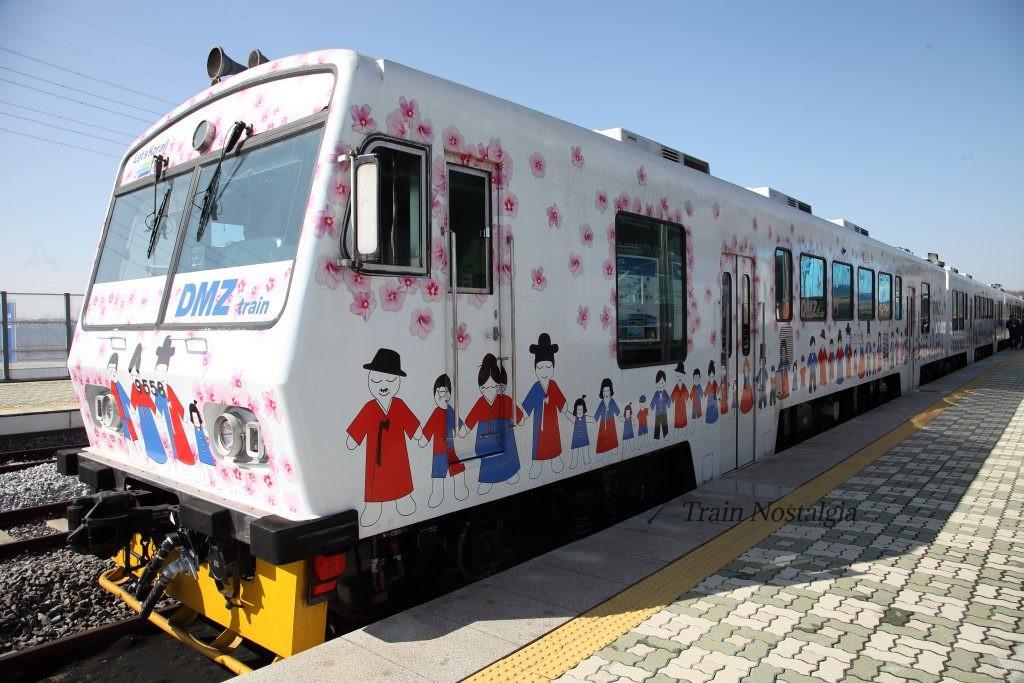 京義線都羅山駅DMZ-Train2