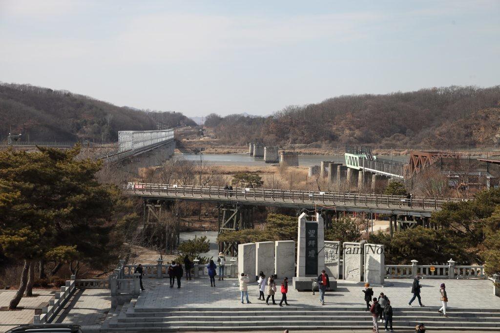 臨津江自由の橋現在