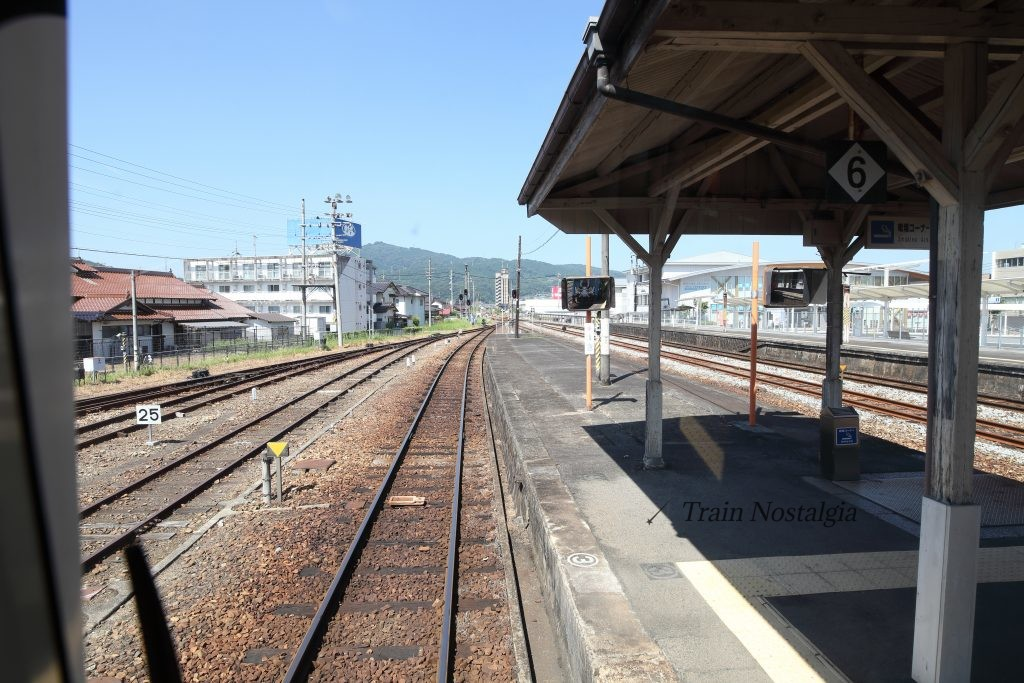 三江線三次駅先頭風景