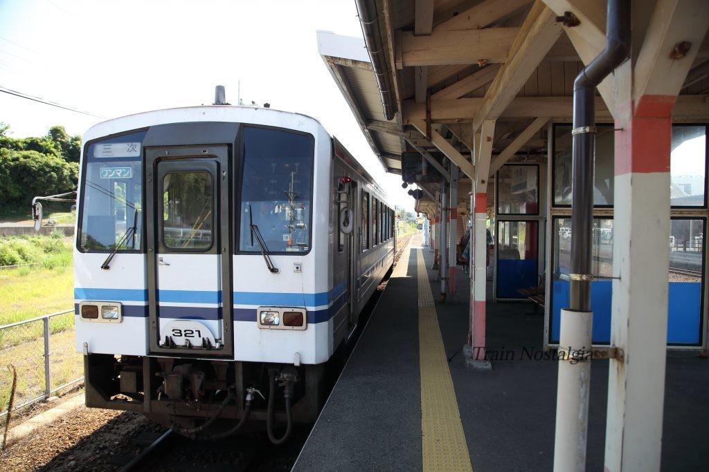 江津駅三次行き