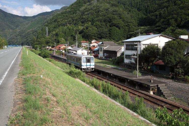 三江線石見簗瀬駅