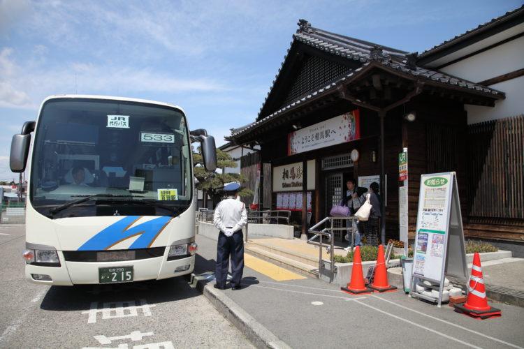 常磐線相馬駅亘理行き代行バス2
