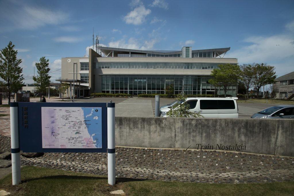 常磐線新地駅代行バス停と地図