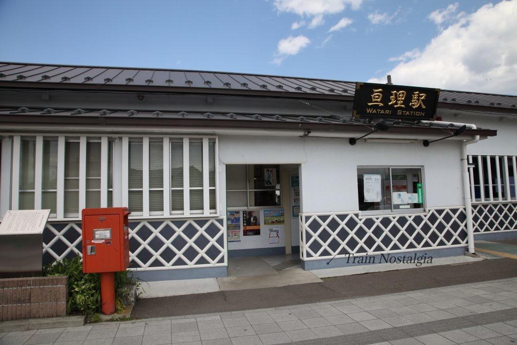 常磐線亘理駅駅舎