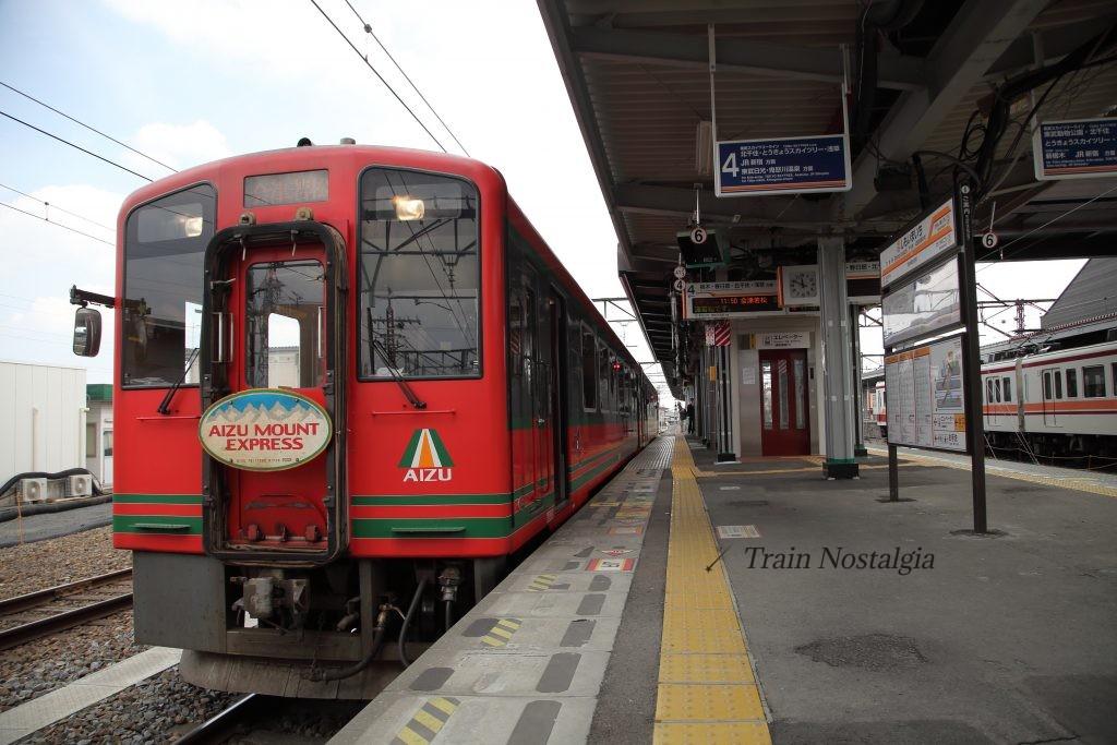 東武鉄道下今市駅AIZUマウントエクスプレス