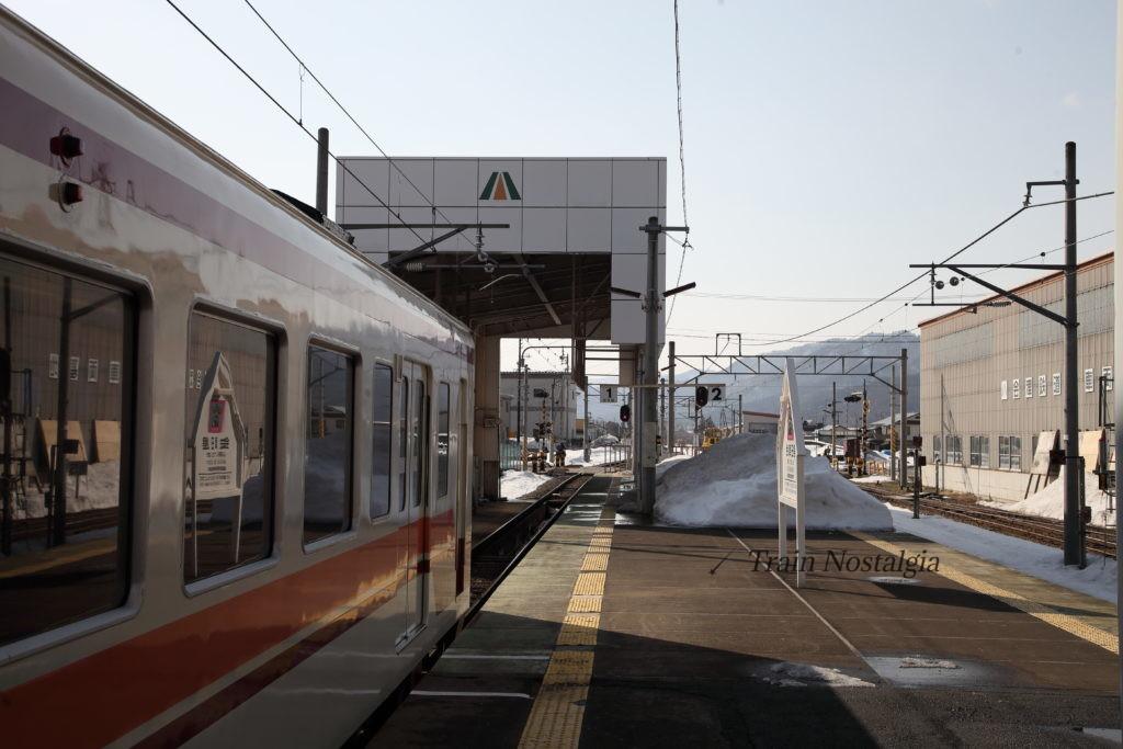 会津鉄道会津田島駅1番線会津高原方面