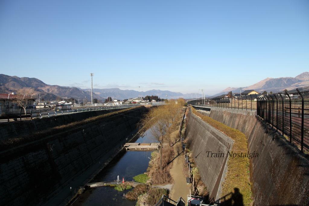 高森湧水トンネル公園俯瞰