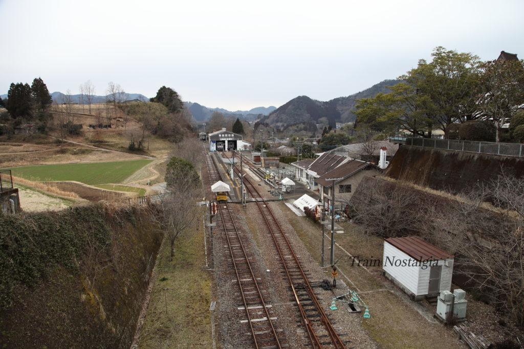 高千穂鉄道高千穂駅遠景