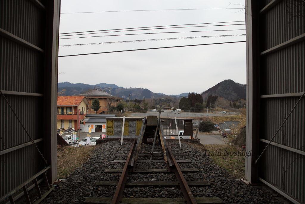 高千穂鉄道高千穂駅終端