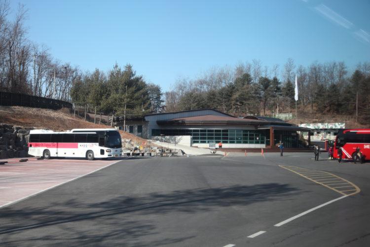 韓国第3トンネル入口全景