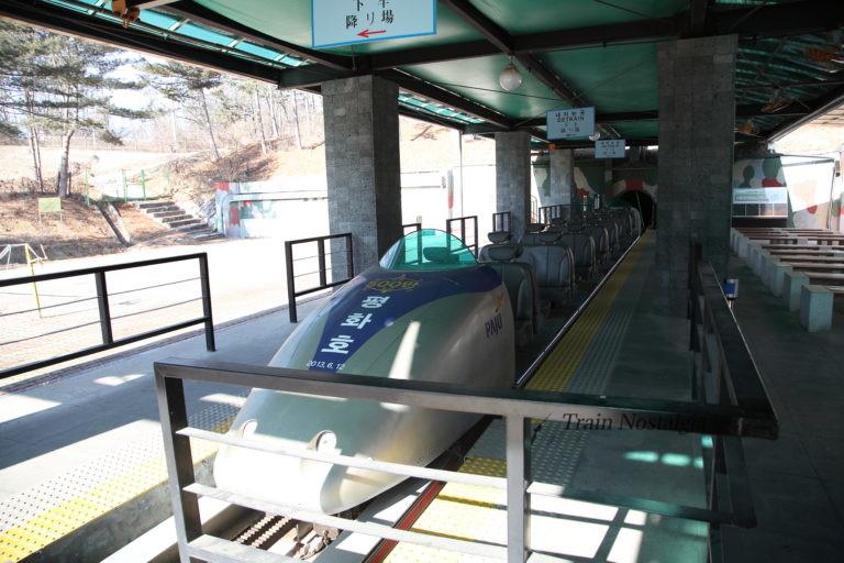 韓国第3トンネルシャトルエレベーター
