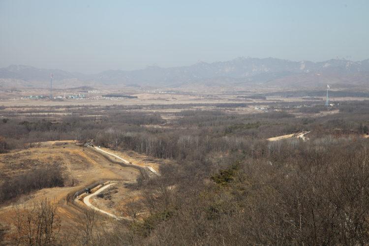 韓国都羅展望台風景