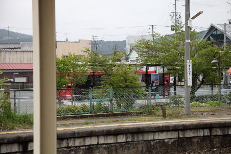 前谷地駅BRT