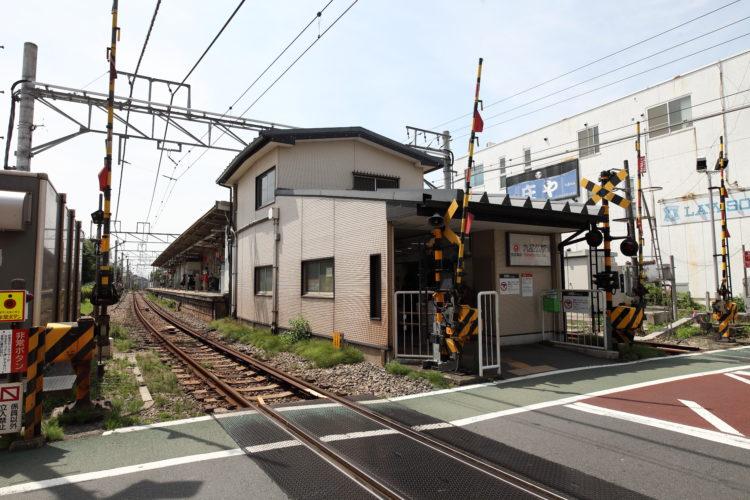 東急大井町線九品仏駅舎