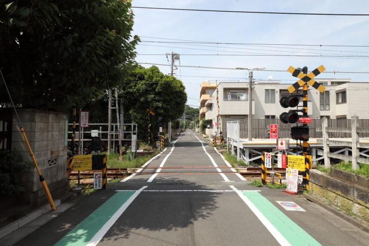 東急大井町線九品仏1号踏切