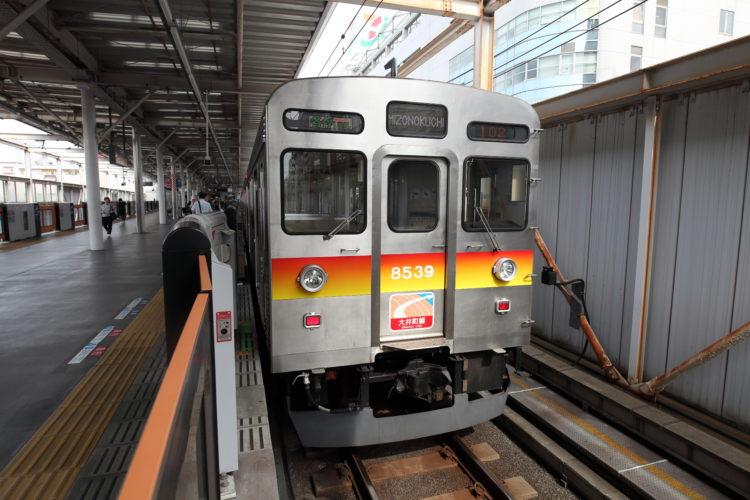 東急大井町線普通列車