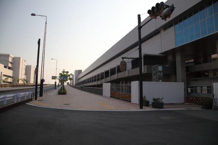 豊洲市場水産仲卸売場棟