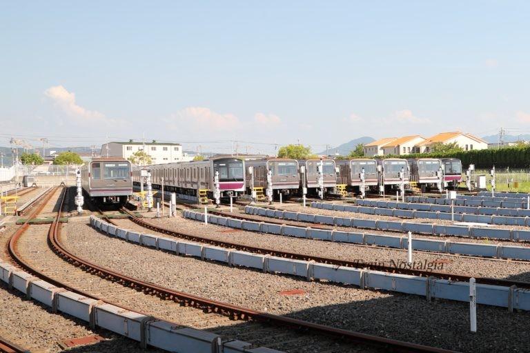 大阪市営地下鉄谷町線八尾車庫