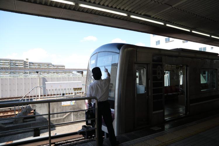 大阪市営地下鉄谷町線八尾南駅の高速運転士