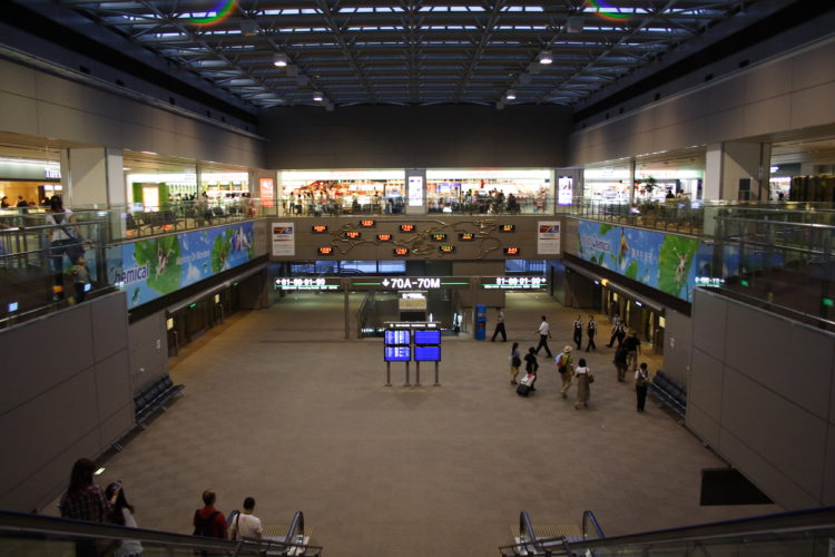 成田国際空港第2旅客ターミナルシャトル乗り場