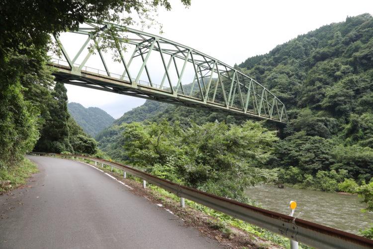 三江線石見都賀駅宇都井間鉄橋
