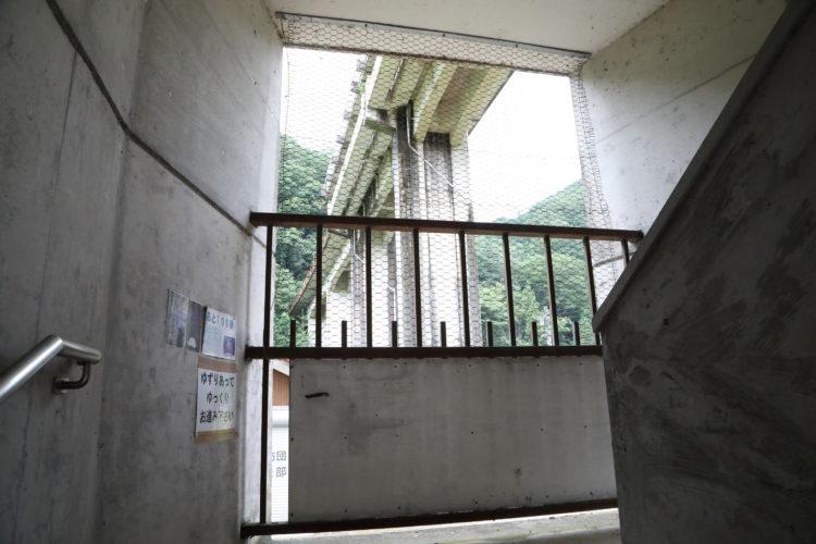 三江線宇都井駅残り100段