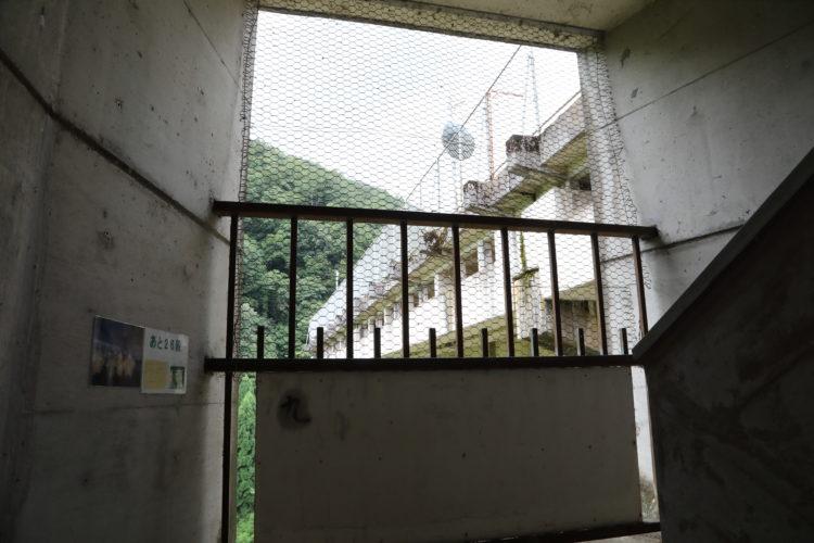 三江線宇都井駅残り26段