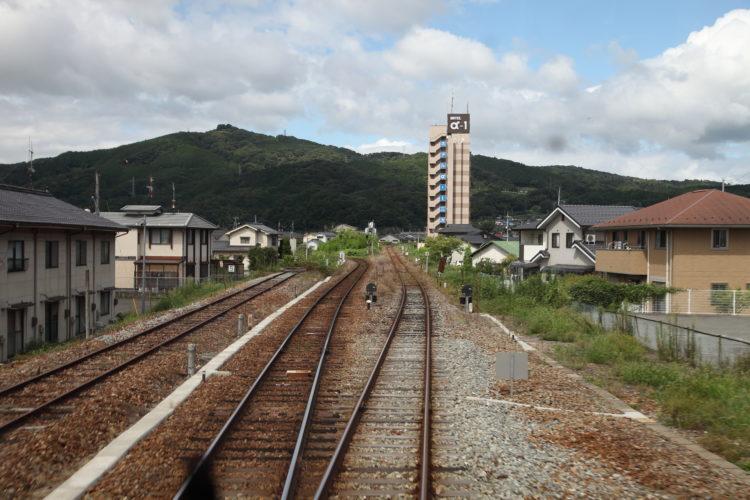 三江線三次駅分岐点