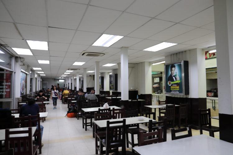 タイ国鉄バンコク駅フードコート