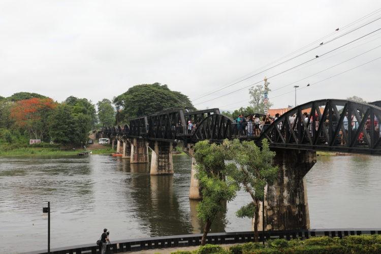タイ国鉄泰緬鉄道クワイ河鉄橋