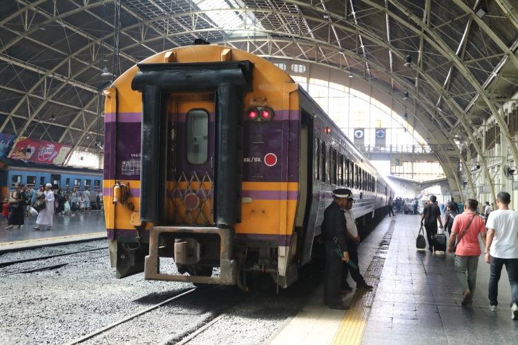 タイ国鉄バンコク駅スンガイコーロック行き・パダンブサール行き