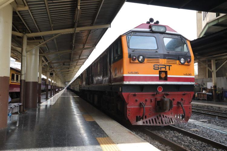 タイ国鉄機関車マレーシア方面
