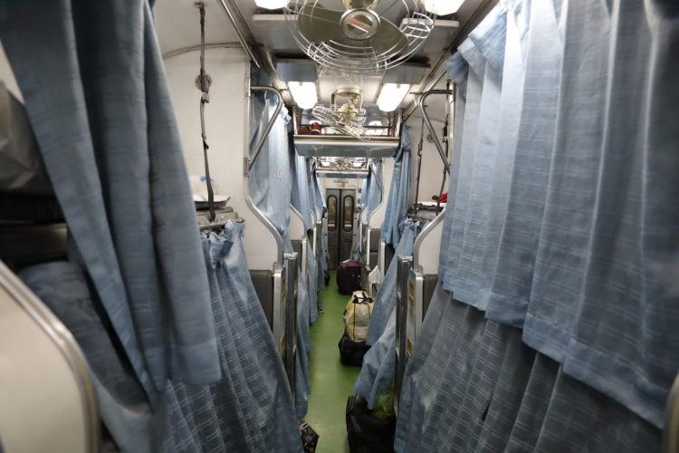 タイ国鉄2等寝台客車寝台