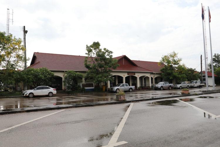 タイ国鉄ターナレーン駅駅舎