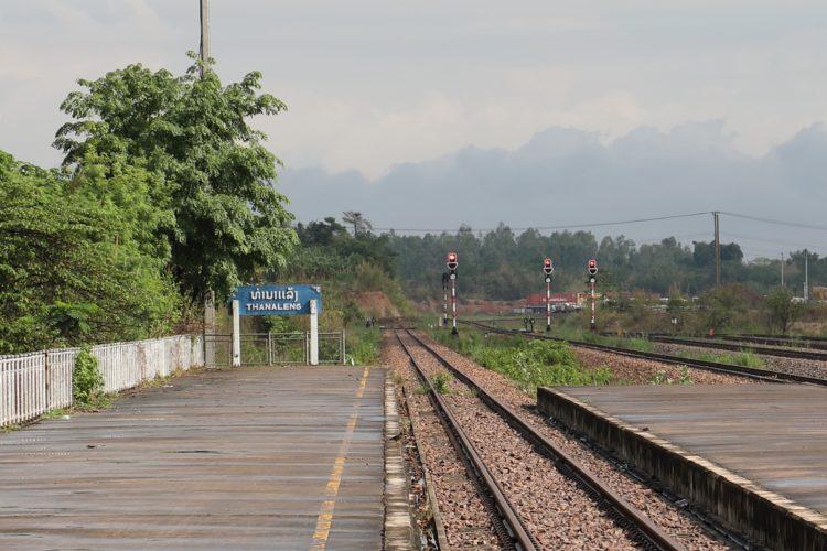 タイ国鉄ターナレーン駅終端