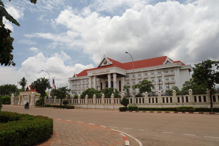 ラオス政府庁舎