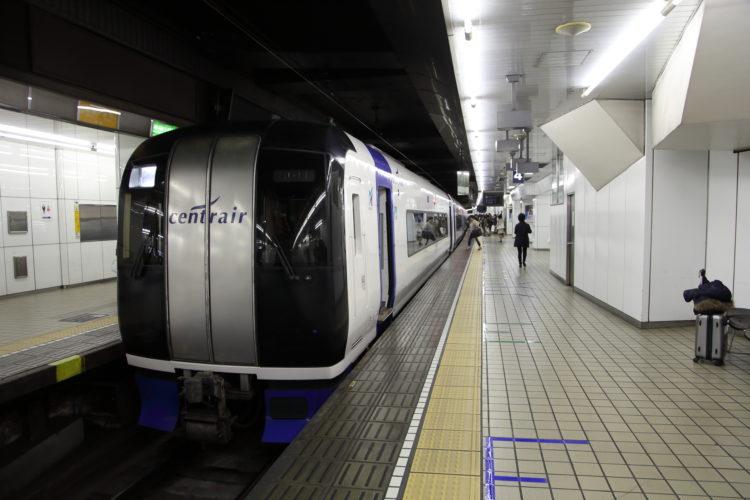 名鉄名古屋駅ミュースカイ