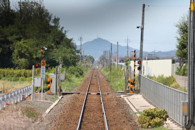 境線前面展望弓ヶ浜駅