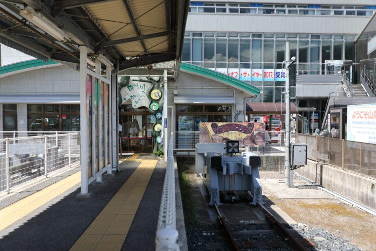 境線境港駅終端