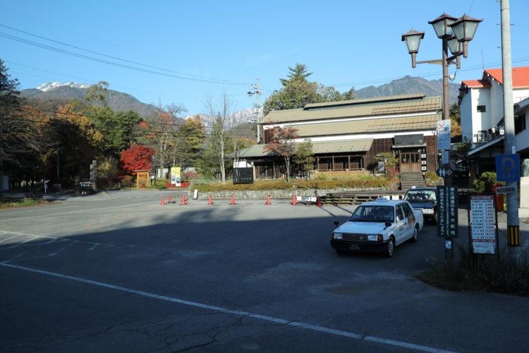 大町温泉郷バス広場