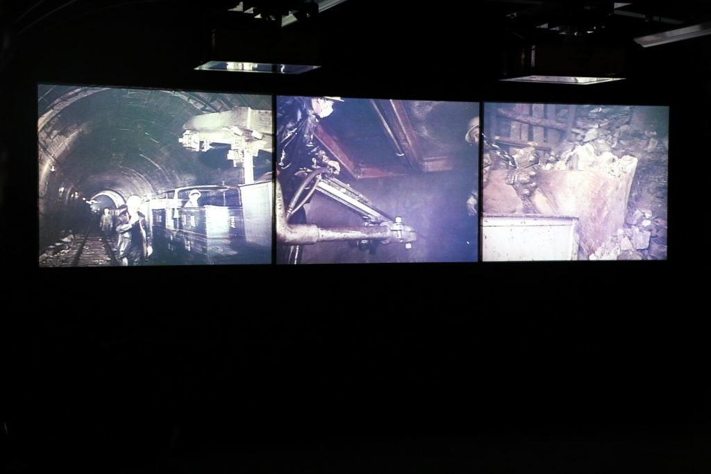 黒部レストハウス「黒部の軌跡」映像