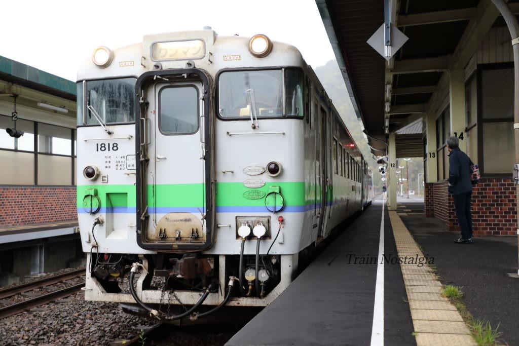 石勝線新夕張駅夕張行き普通列車