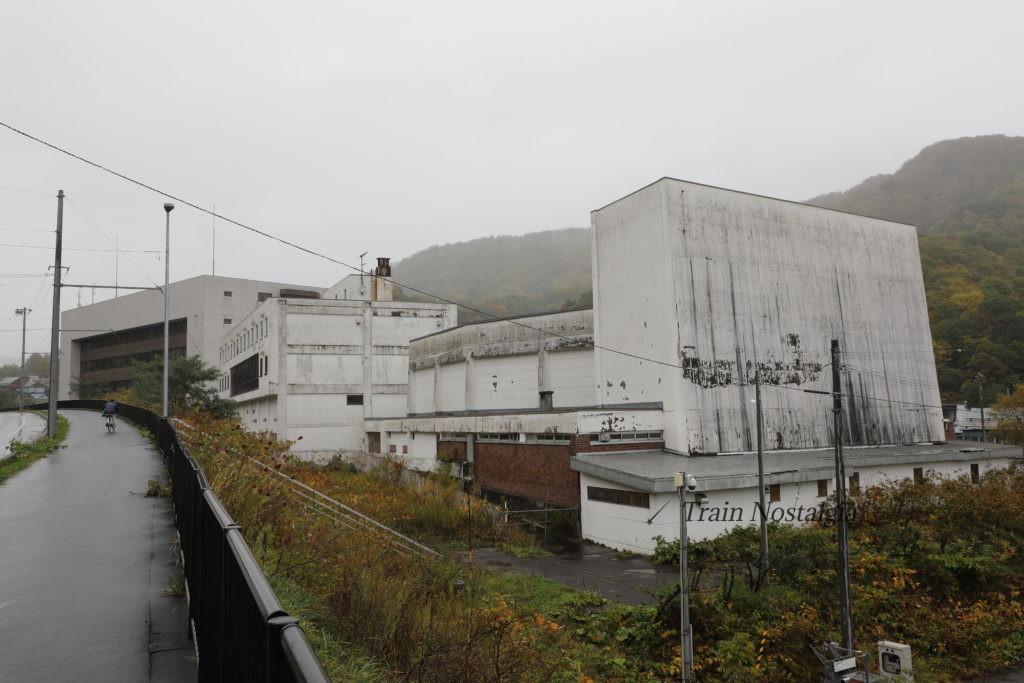 夕張鉄道夕張本町構内跡と国鉄夕張線2代目夕張駅跡