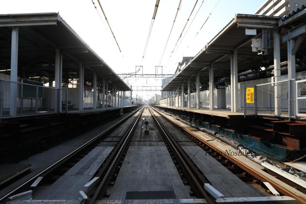 京急大師線産業道路駅地上ホーム